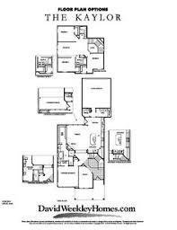 David Weekly Floor Plans David Weekley Homes Kaylor Elevation A 2 727 Sq Ft Viridian