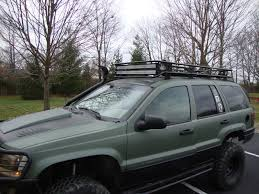 jeep wj roof lights wj roof baskets pics a new thread for 2016 jeepforum com