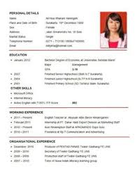 writing a resume exles 100 resume format for experienced sle template exle of