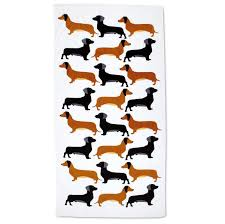 dachshund wrapping paper dachshund personalized towel current catalog