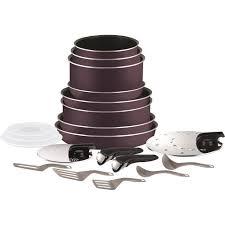 tefal batterie de cuisine tefal ingenio essential batterie de cuisine 20 pièces l2029702 16 18