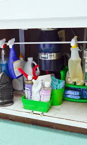 get organized under your sink for less than 10 organizing