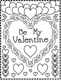 valentine printable coloring pages for really encourage cool