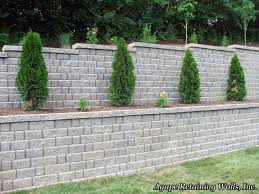 Recon Walls by Retaining Wall Blocks Design Interesting Ideas Block Retaining
