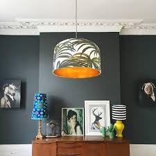 this is a stunning drum lampshade handmade from the iconic house