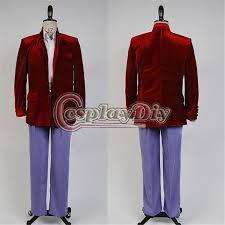 Beatles Halloween Costumes Custom Beatles Red Velvet Suit Costume Shea