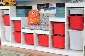 Wall Bookshelves For Nursery by 5 Ways To Organize Your Playroom Shelves Catalog And Playrooms
