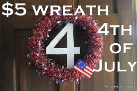 4th of july wreaths wreath for the 4th of july the country chic cottage