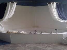 garden tubs with shower corner garden tub shower curtains small