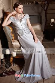 creative fox evening dress stylish shawl jacket banquet dress v