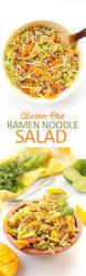 gluten free ramen noodle salad the healthy maven