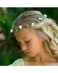 wedding headband new savings on flower girl hobo headband ivory or white floral