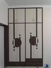 Cupboard Design White Lacquer Modern Wardrobe Design Come With Wooden Material
