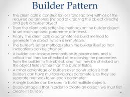 builder pattern in java 8 effective java