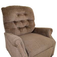 54 off tan and grey cloth recliner chairs