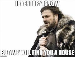 Real Estate Meme - real estate meme low inventory