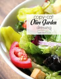 Garden Vegetable Salad by Copycat Olive Garden Salad Dressing Recipe Family Fresh Meals