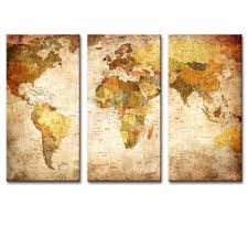 Vintage World Map by Aliexpress Com Buy 3 Pcs Set Still Life Vintage World Maps