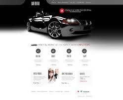 lexus auto website website template 46396 car rental auto custom website template