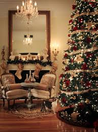Elegant Christmas Tree Decorating Themes by Christmas Home Decor Traditional Christmas Decorating Ideas