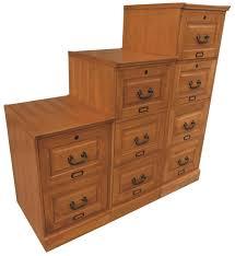 2 Drawer Wooden Filing Cabinet Oak Two Drawer Oak File Cabinet Antique Harvest