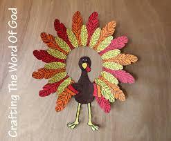 turkey wreath crafting the word of god
