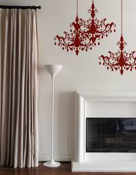 Chandelier Wall Stickers Chandelier Blik