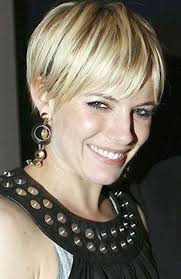 how to stye short off the face styles for haircuts sienna miller pixie blonde hairstyles my style pinterest