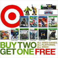 best electronic game deals on black friday target u0027s buy 2 get 1 free video game sale on now black friday 2017
