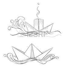 sketch of hand drawn ship royalty free cliparts vectors and