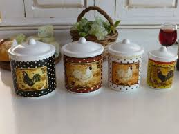 rooster kitchen canisters 136 best kitchen design in roosters images on rooster