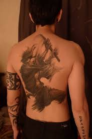 Back Pieces Tattoos Samurai Back Ideas Center