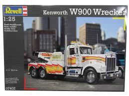 kenworth w900 model revell 1 25 kenworth w900 wrecker kit 95 07402 priceritemart