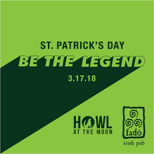 fado irish pub and howl at the moon present st patrick u0027s day 2018