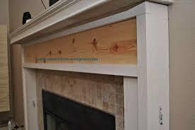 diy fireplace mantel surround plans fireplace mantel shelf her tool belt surround transformation jenna burger diy