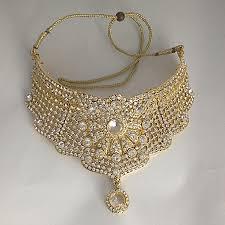 ladies necklace sets images Diamante necklace set simple girls store png