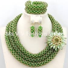beads jewelry necklace images 2018 2018 silver royal blue african beads jewelry set nigerian jpg