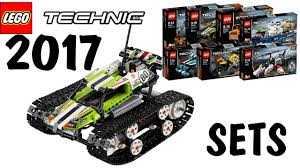lego technic lego technic winter 2017 sets official images youtube