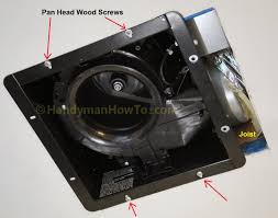 Bathroom Exhaust Fan With Light And Heater How To Replace A Bathroom Exhaust Fan And Ductwork Trim Moulding