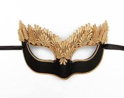 mask for masquerade this molded masquerade mask is detailed with a glittery cut out