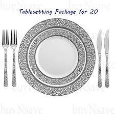 silver wedding plates 21 coolest dinnerwares