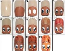 easy step by step thanksgiving nail art tutorials for beginners