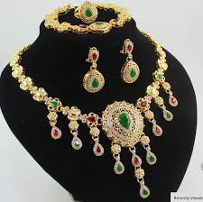 indian necklace set images Indian jewelry bridal jewelry necklace set mahavir silver point jpg