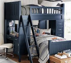 Camp Twin Bunk System  Twin Bed Set Pottery Barn Kids - Pottery barn kids bunk bed