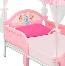 Disney Princess Toddler Bed With Canopy Delta Children Disney Princess Toddler Bed Reviews Wayfair