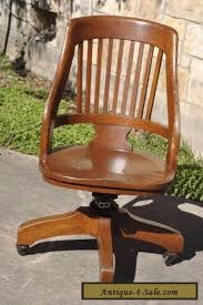 Milwaukee Chair Company Victorian Oak Swivel Desk Chair Antiques Atlas Antique Office