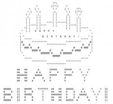 Ascii Art Meme - birthday cake text art image 592801 ascii art know your meme ideas