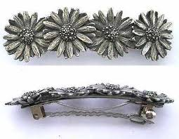 hair slides provencal jewellery decorative pewter items by mail order from