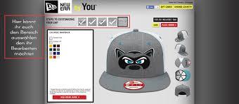 selber designen new era cap selber gestalten coole caps zeigt euch wie