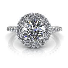 round halo rings images Angel halo round brilliant engagement ring 1ct jpg